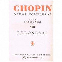 Chopin. Polonesas para Piano