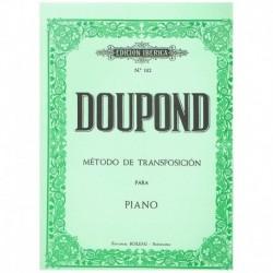 Doupond. Método De Transposición Para Piano
