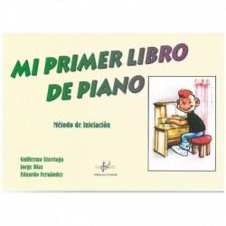 Iturriaga/di Mi Primer Libro De Piano