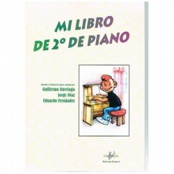 Iturriaga/Diaz/Fernandez. Mi Libro De Segundo De Piano