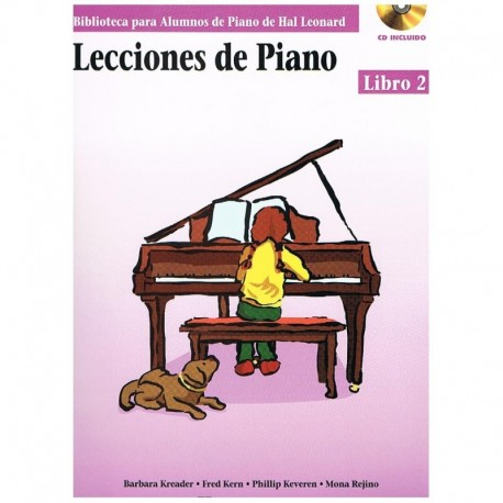 Kreader/Kern Lecciones de Piano Vol.2 +CD