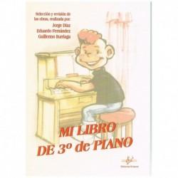 Iturriaga/Diaz/Fernandez. Mi Libro De Tercero De Piano