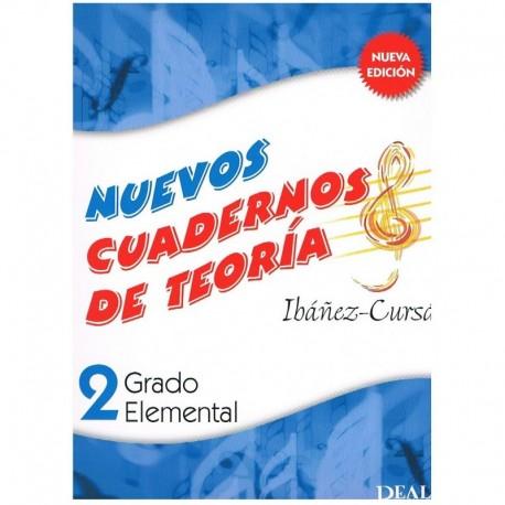 Ibañez/Cursá. Nuevos Cuadernos De Teoria 2. Grado Elemental. Real Musical