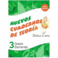 Ibañez/Cursa Nuevos Cuadernos De Teoria 3. Grado Elemental