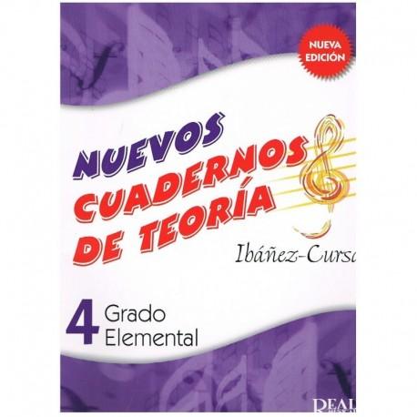 Ibañez/Cursá. Nuevos Cuadernos De Teoria 4. Grado Elemental. Real Musical