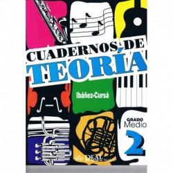 Ibañez/Cursá. Cuadernos De Teoria 2. Grado Medio