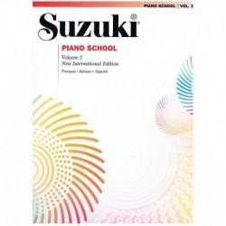 Suzuki Piano School Vol.2