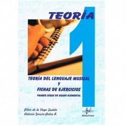 De La Vega/García. Teoría del Lenguaje Musical y Fichas de Ejercicios 1º Grado Elemental