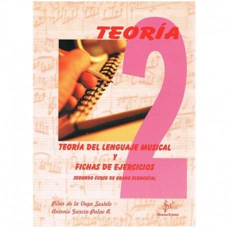 De La Vega/García. Teoría del Lenguaje Musical y Fichas de Ejercicios 2º Grado Elemental
