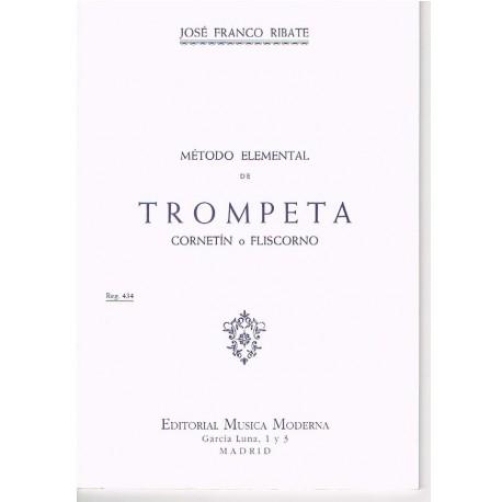 Franco Ribate. Método Elemental de Trompeta
