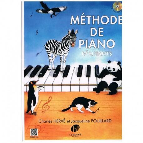 Herve/Pouillard. Método De Piano Debutantes (CD Opcional)