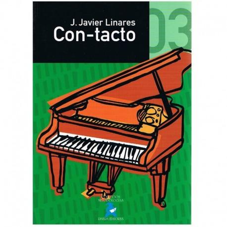 Linares, Javier. Con-tacto Vol.3 (Piano). Rivera/Impromptu