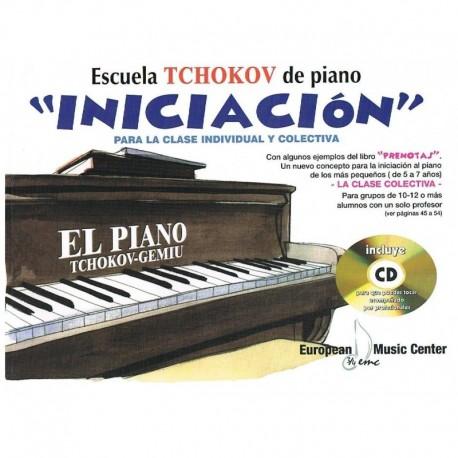 Tchokov/Gemiu. Escuela Thokov de Piano. Iniciacion +CD. Emc