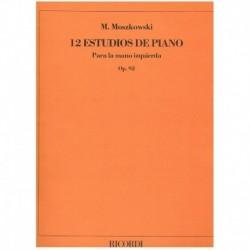 Moszkowski, 12 Estudios Op.92