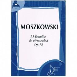 Moszkowski. 15 Estudios De...