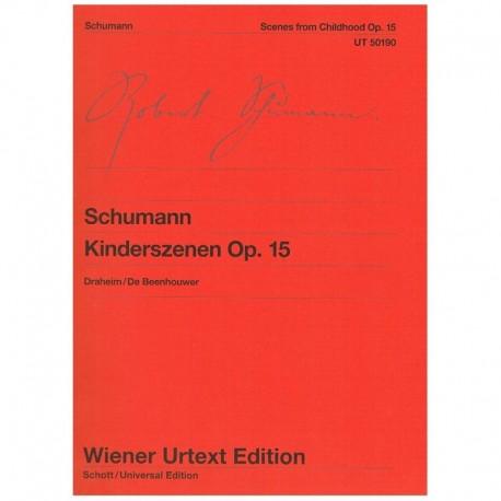 Schumann. Escenas De Niños Op.15 (urtext)