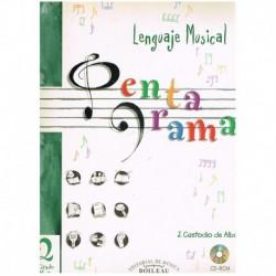 Custodio De Alba. Pentagrama 2. Lenguaje Musical. Grado Medio