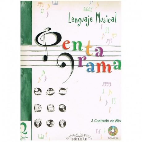 Custodio De Alba, J. Pentagrama 2. Grado Medio