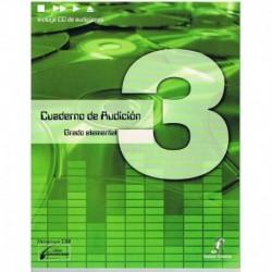 Cañada/Lopez/Molina. Cuaderno De Audicion 3 Grado Elemental