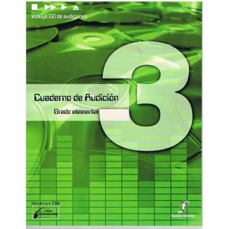Cañada/Lopez/Molina. Cuaderno De Audicion 3 Grado Elemental +CD. Enclave Creativa
