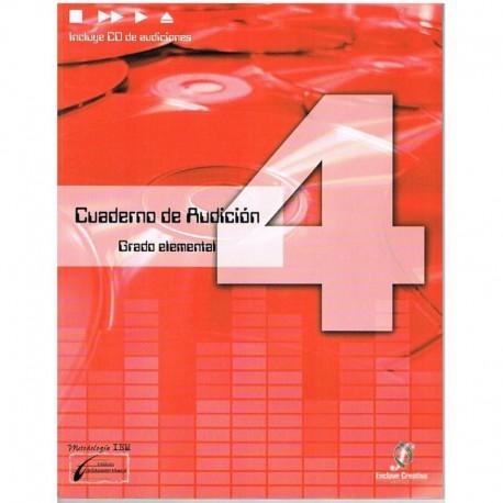 Cañada/Lopez/Molina. Cuaderno De Audicion 4 Grado Elemental +CD. Enclave Creativa
