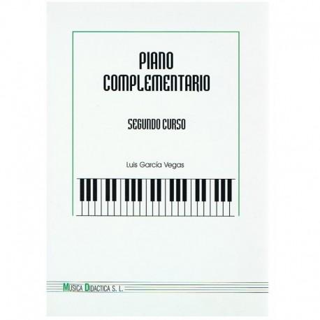 Garcia Vegas. Piano Complementario Segundo Curso. Música Didáctica