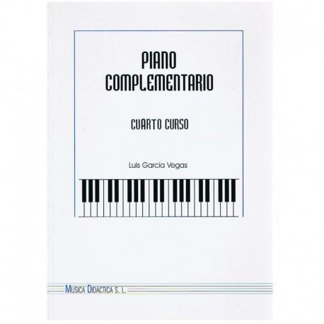 Garcia Vegas. Piano Complementario Cuarto Curso. Música Didáctica