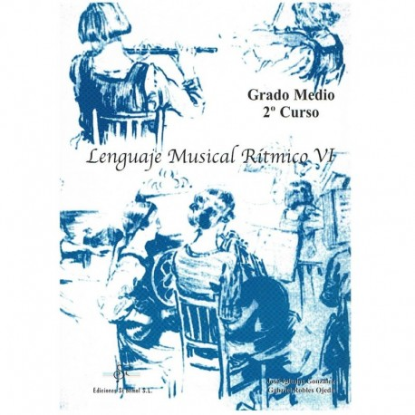 Gil/Iglesias, Robles. Lenguaje Musical Rítmico 6