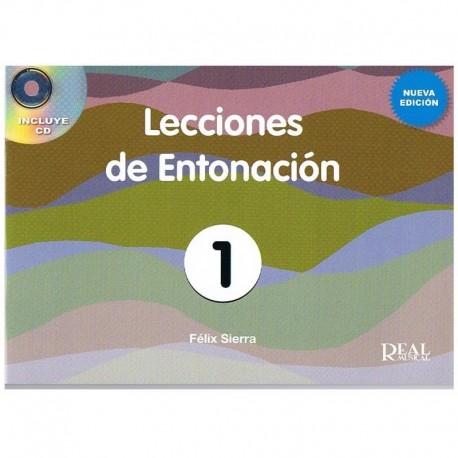 Sierra, Félix. Lecciones De Entonación 1. Nueva Edición +CD