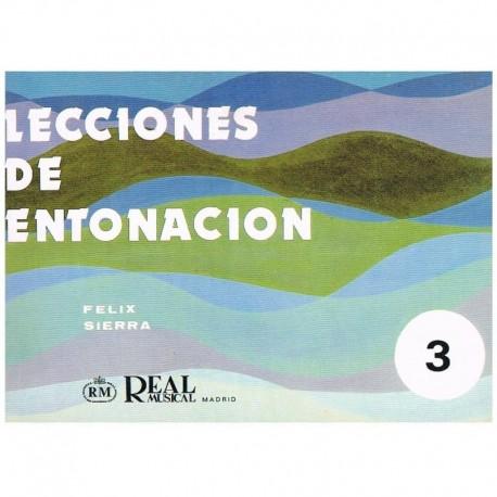 Sierra, Félix. Lecciones De Entonación 3. Real Musical