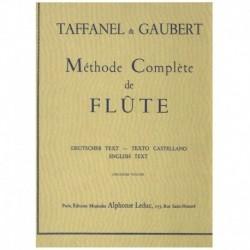 Taffanel. Método Completo para Flauta Vol.2