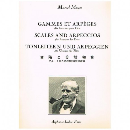 Moyse, Marce Escalas y Arpegios (480 Ejercicios) (Flauta)