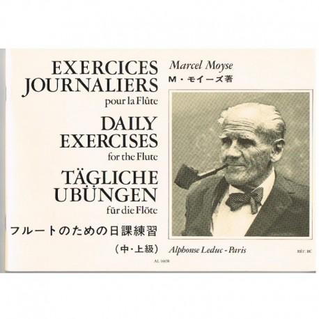 Moyse, Marcel. Ejercicios Diarios para Flauta
