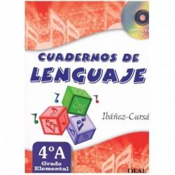 Ibañez/Cursa. Cuadernos De Lenguaje 4A. Grado Elemental