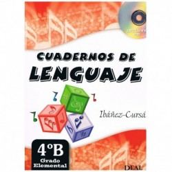 Ibañez/Cursa. Cuadernos De Lenguaje 4B. Grado Elemental