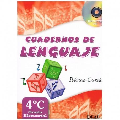 Ibañez/Cursa. Cuadernos De Lenguaje 4C. Grado Elemental
