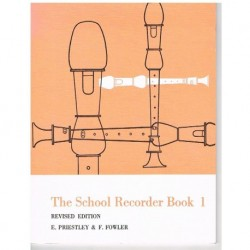Priestley/Fowler. The School Recorder Book 1