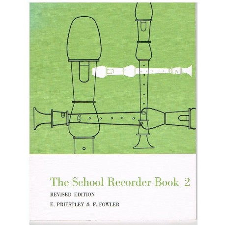 Priestley/Fo The School Recorder Book 2