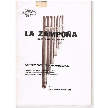 Cavour, Erne La Zampoña. Aerofono Boliviano