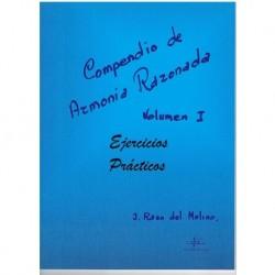 Raso del Mol Compendio de Armonia Razonada Vol.1 Ejercicios Prácticos