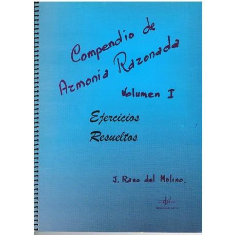 Raso del Mol Compendio de Armonia Razonada Vol.1 Ejercicios Resueltos