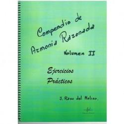 Raso del Mol Compendio de Armonia Razonada Vol.2 Ejercicios Prácticos