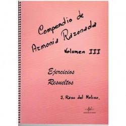 Raso del Mol Compendio de Armonia Razonada Vol.3 Ejercicios Resueltos