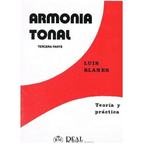 Blanes. Armonía Tonal 3ª Parte. Teoría y Práctica. Real Musical