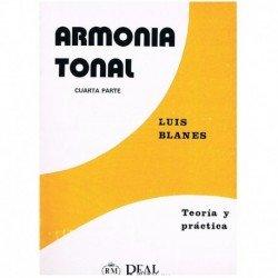 Blanes. Armonía Tonal 4ª Parte. Teoría y Práctica