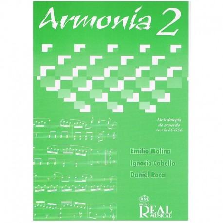 Roca/Cabello. Armonía 2. Metodología de Acuerdo con la Logse. Real Musical
