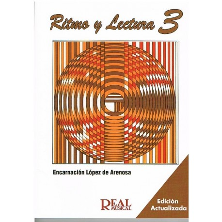 López de Arenosa. Ritmo y Lectura 3. Real Musical
