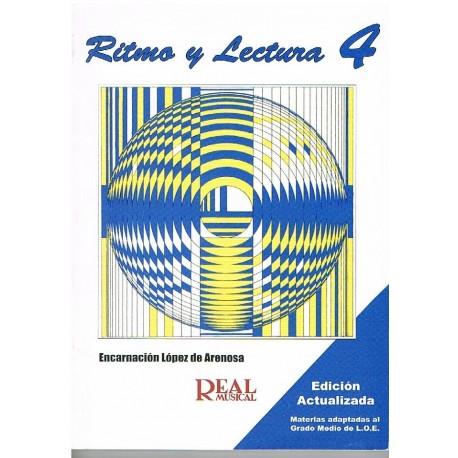 López de Arenosa. Ritmo y Lectura 4. Real Musical