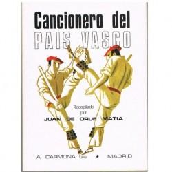 De Orue Matia, Juan. Cancionero del País Vasco