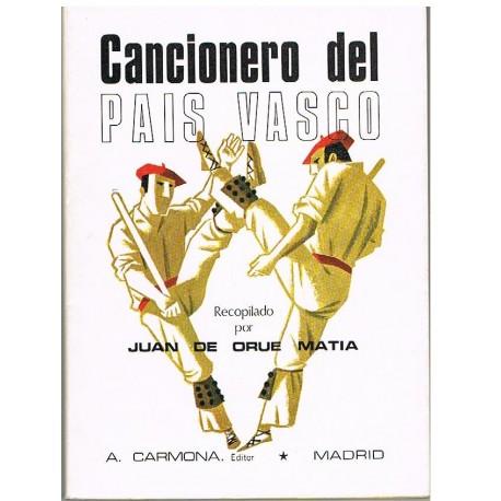 De Orue Mati Cancionero del País Vasco